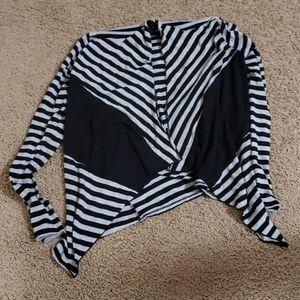 Black &Gray cardigan S S